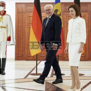 Германският президент призова да се подкрепят реформите в Молдова