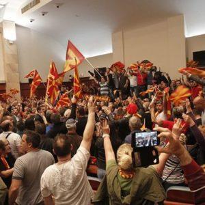 Днес се навършват четири години от насилието в Събранието на Северна Македония