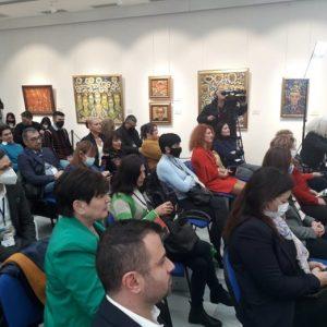"""Изложбата """"Чудотворни икони и свети мощи на Балканите"""" беше открита в рамките на XVI световна среща на българските медии"""