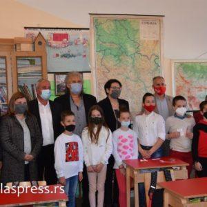 Министъра Гордана Чомич посети Босилеград (Видео)