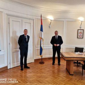 На 22 април 2021 г. посланик Петко Дойков бе приет от помощник-министъра на външните работи на Република Сърбия