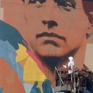 Нарисуваха най-големия портрет на Васил Левски (ВИДЕО)