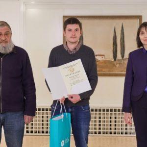 """НДФ """"13 века България"""" връчи наградите в конкурса за къс разказ на млади писатели """"Рашко Сугарев"""" 2021"""