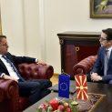 Новият еврокомисар за съседска политика и преговори за разширяване на ЕС беше на първо посещение в Северна Македония