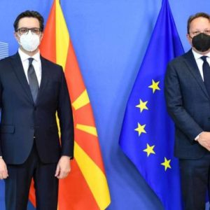 Президентът на Северна Македония в Брюксел проведе срещи с водещите политици на Европейския съюз