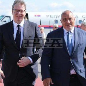 Премиерът Борисов посрещна президента на Сърбия Александър Вучич