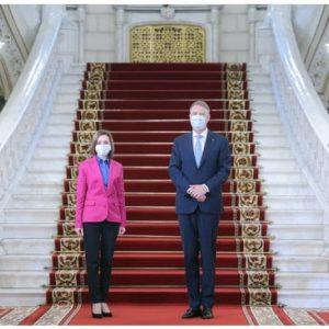Румъния остава основният партньор на гражданите на Република Молдова, заяви Клаус Йоханис след среща с Мая Санду