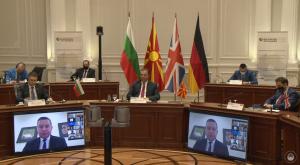 В Скопие се проведе среща в рамките на съвместното председателствуване на Северна Македония и България с Берлинския процес