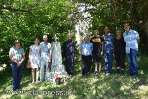 Положиха цветя на гроба на поручик Генчо Неделчев в с. Божицa