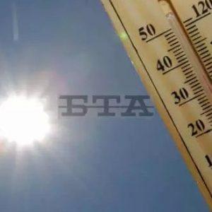 Температурен рекорд за октомври – 36 градуса, е регистриран в Търговище